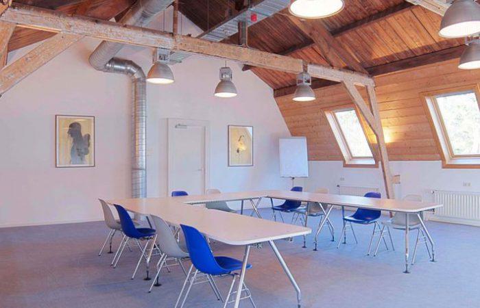Een leuke vergaderzaal in de buurt van Den Bosch